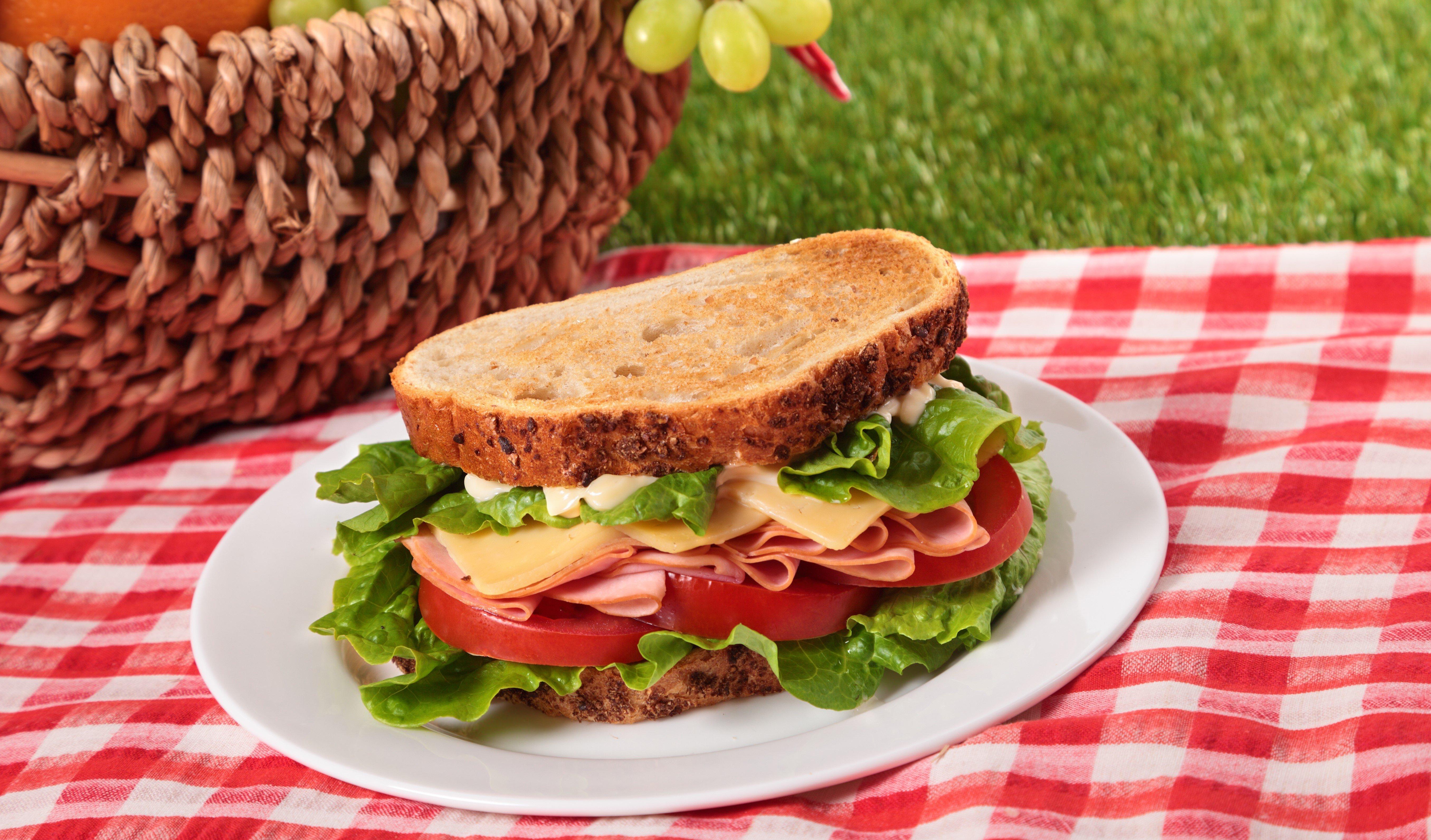Sandwich, Picnic Cropped